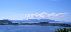 View of Kerrera and Mull